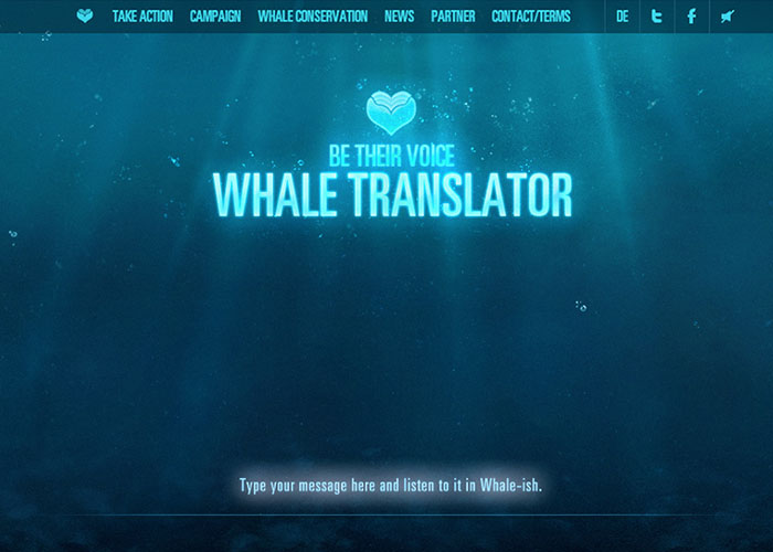 The Whale Translator