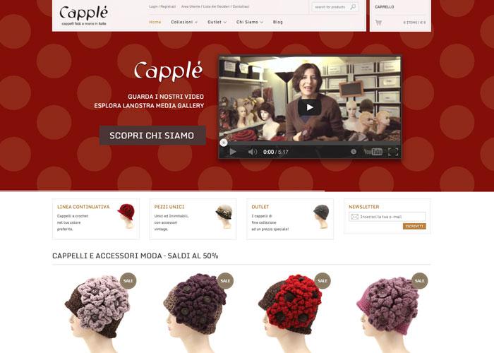 Capplè | crochet hats handmade in Italy