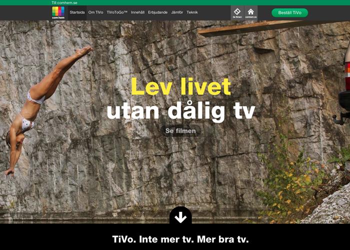 TiVo for Com Hem
