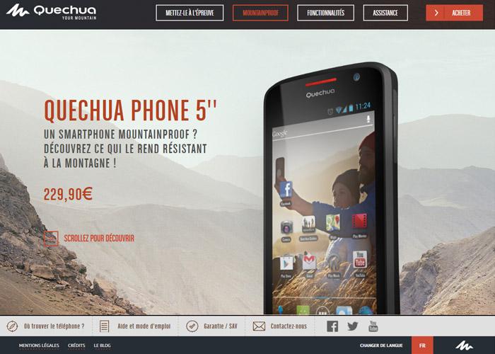 QUECHUA PHONE 5''