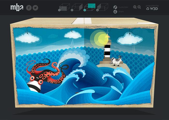 3D Greetings box 2014