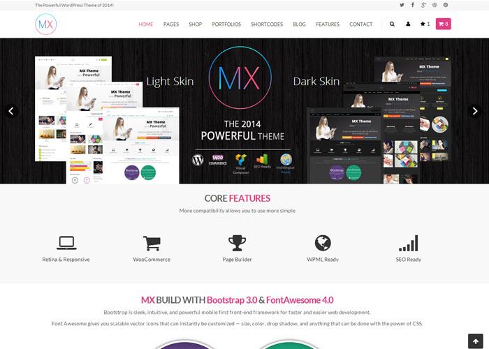 MX - Responsive Multi-Purpose WordPress Theme
