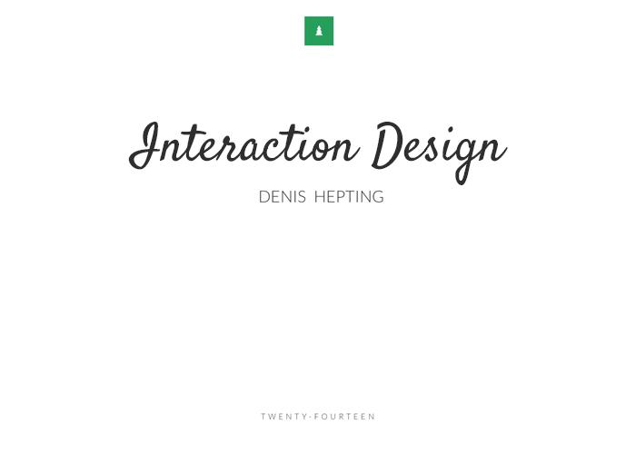 Interaction Design Portfolio