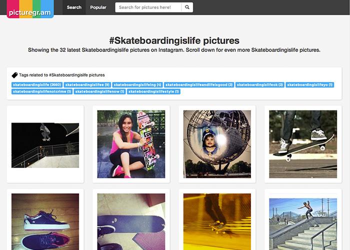 Picturegr.am Instagram Search Engine