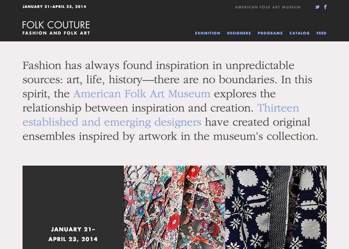 American Folk Art Museum Exhibition Tumblr
