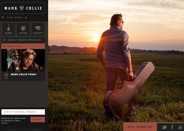 Mark Collie Website