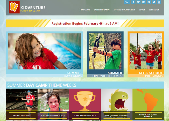 KiDVENTURE Summer Camps