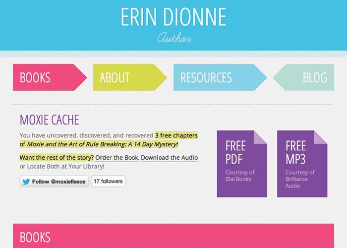 Erin Dionne, Author