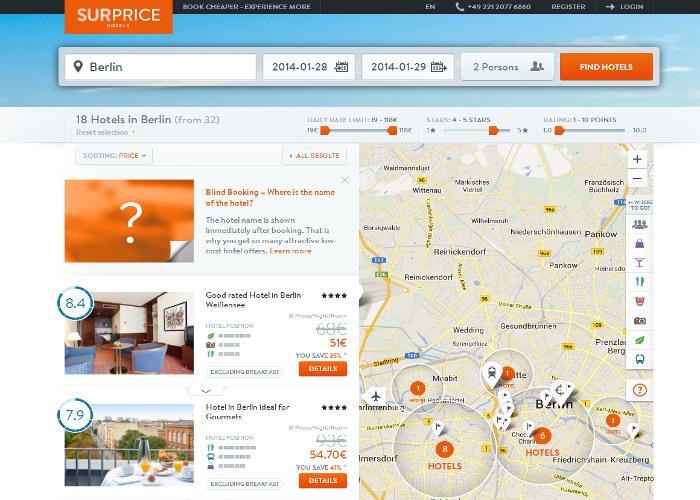 SURPRICE Hotels
