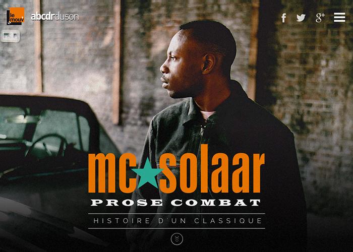 MC Solaar, Prose Combat