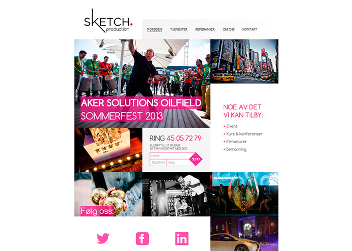 Sketch Production