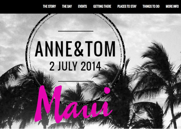 Tom and Anne marry in Maui