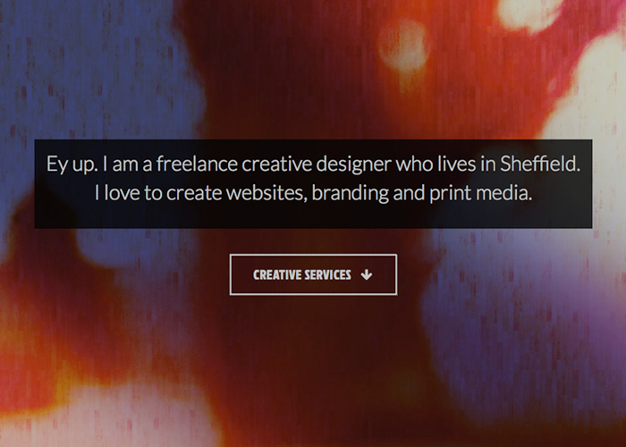 Richard Outram - Freelance Web & UX Design, Sheffield, Yorkshire