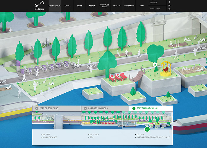 User Guide | Les Berges de Seine