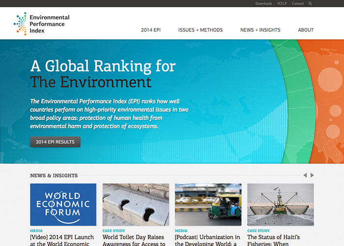 Yale Environmental Performance Index