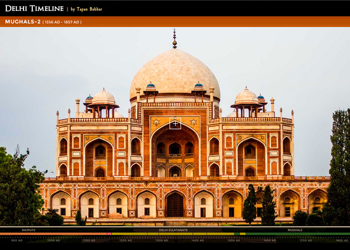 Delhi Timeline   by Tapan Babbar