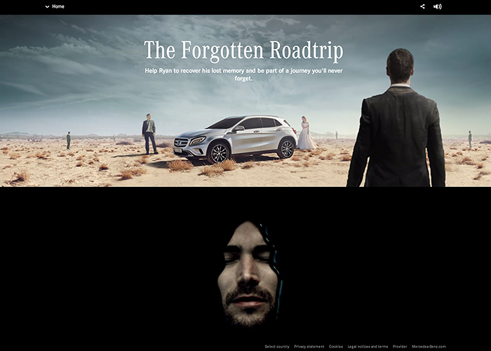 "Mercedes-Benz GLA ""The Forgotten Roadtrip"""