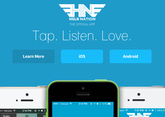 Tha Fly Nation & HSLR App