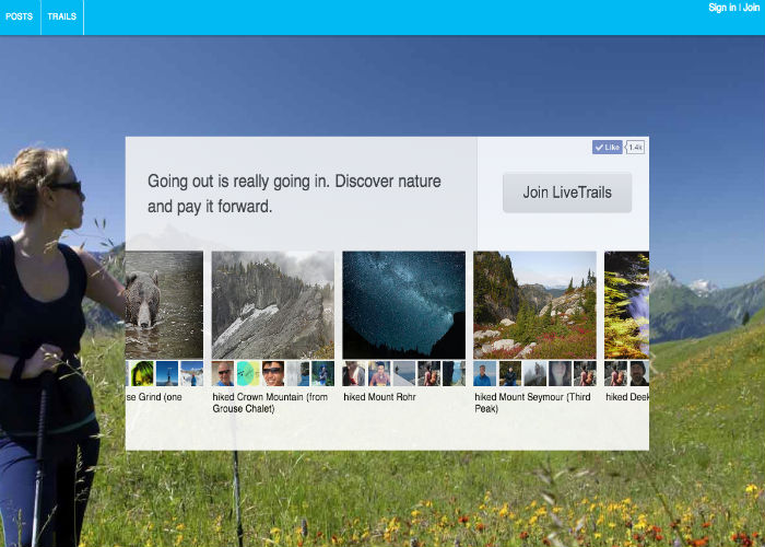 LiveTrails: Discover Nature