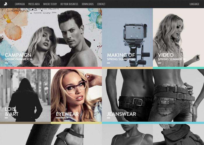 Lois Jeans Official website