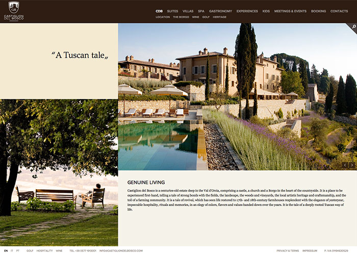 Castiglion del Bosco - Tuscany