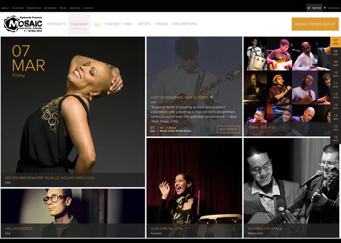 Mosaic Music Festival 2014