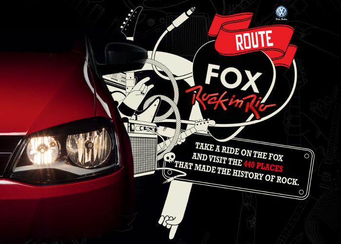 Route Fox Rock in Rio