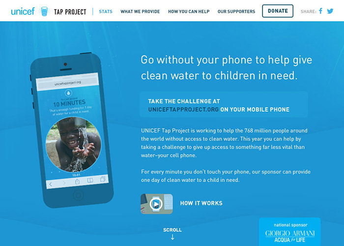 UNICEF TAP PROJECT 2014