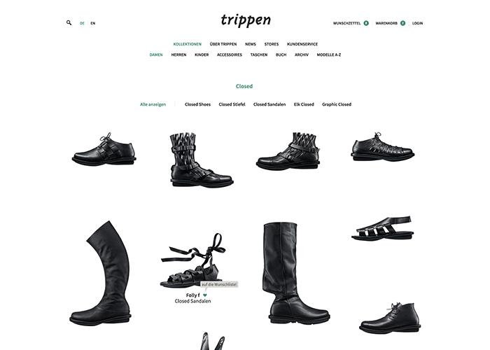 Trippen Webshop