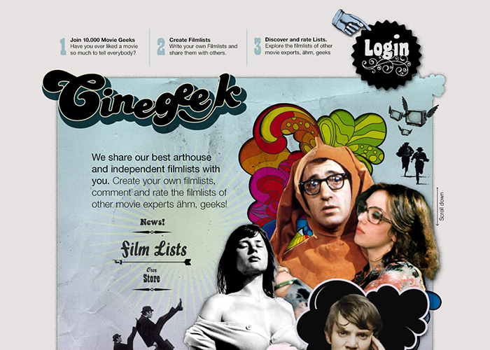 Cinegeek - a social platform for moviegeeks