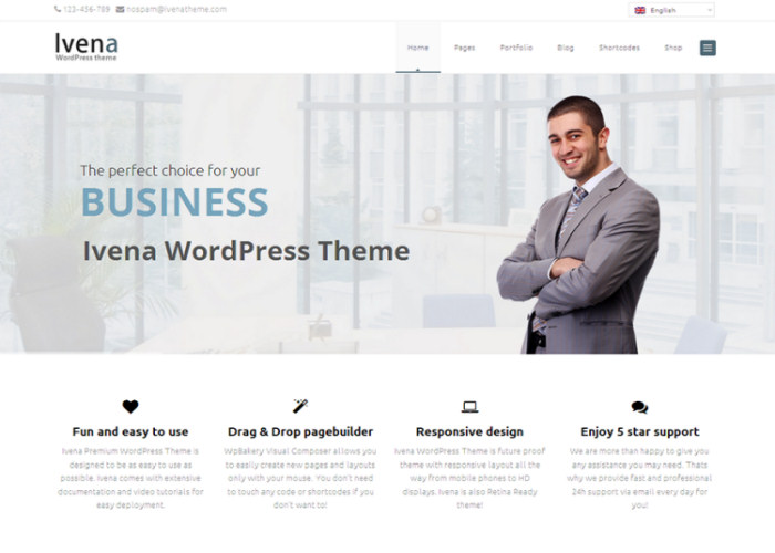 Ivena Multipurpose WordPress Theme