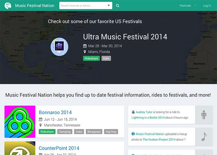 Music Festival Nation