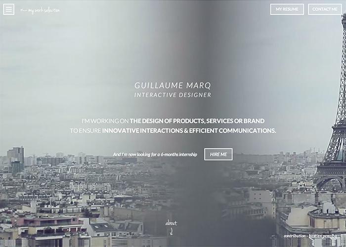 Guillaume Marq Portfolio