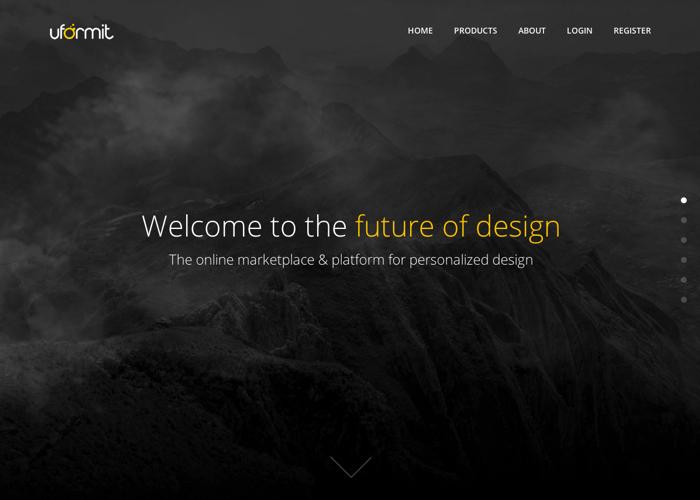 Uformit - The online marketplace & platform for personalized design