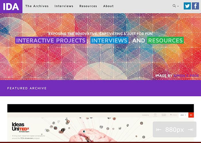 Interactive Design Archive