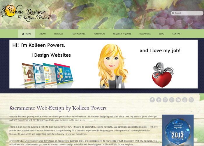 Web Design by Kolleen Powers