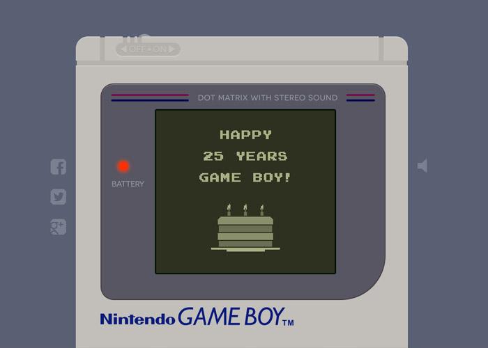 Happy Birthday Game Boy