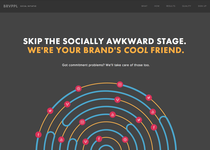 Brave People | Get Social