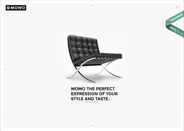 Momo, a smashing One / Multi page Wordpress theme made for the World.