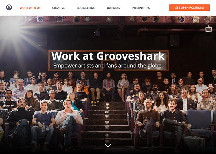Grooveshark Careers