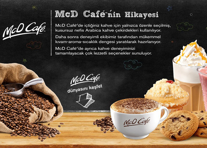 McDonald's Turkey - McD Café
