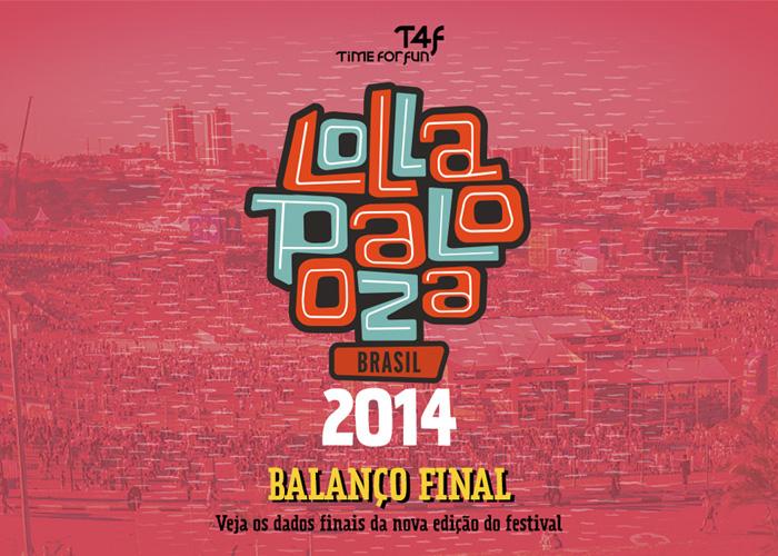 Lollapalooza Brasil 2014 - Balanço final