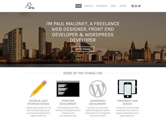 Paul Maloney | Freelance Designer, Front End Developer and WordPress Developer