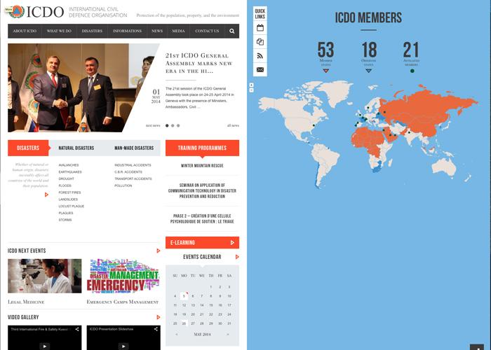 INTERNATIONAL CIVIL DEFENCE ORGANISATION