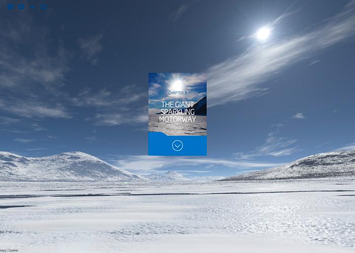 Intel Ben Saunders Interactive Documentary