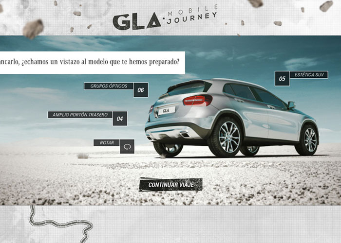 GLA Mobile Journey