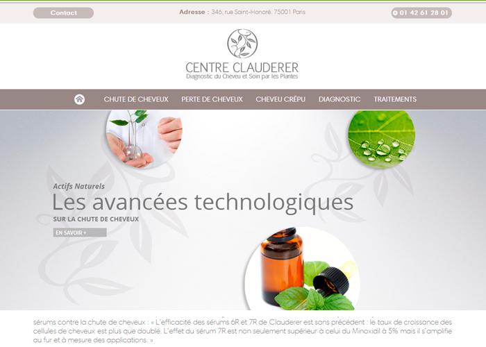 Centre Clauderer - Chute de Cheveux