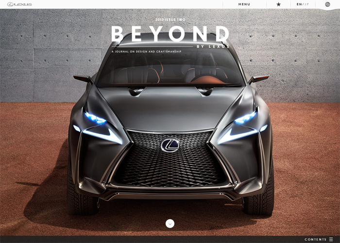 BEYOND BY LEXUS Magazine Issue2