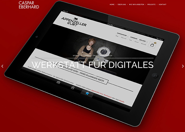 Caspar Eberhard - Werkstatt für Digitales