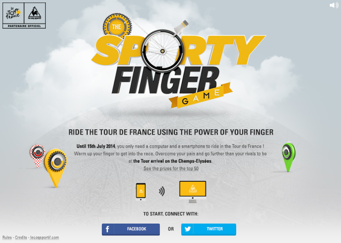 The Sporty Finger Game